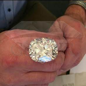 Diament naturalny[br]Poduszka[br]101,06 ct - VS2/D - GIA[br]100.000.000 PLN