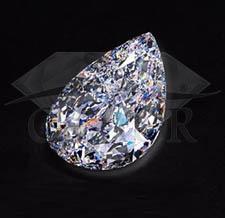 Diament naturalny[br]Łezka [br]105,03 ct - FL/D - GIA[br]150.000.000 PLN