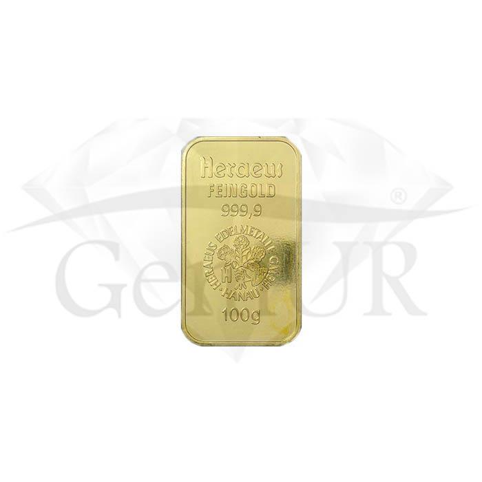 1 kg złota Au próba 999.9 [br] 10 sztabek X 100 g