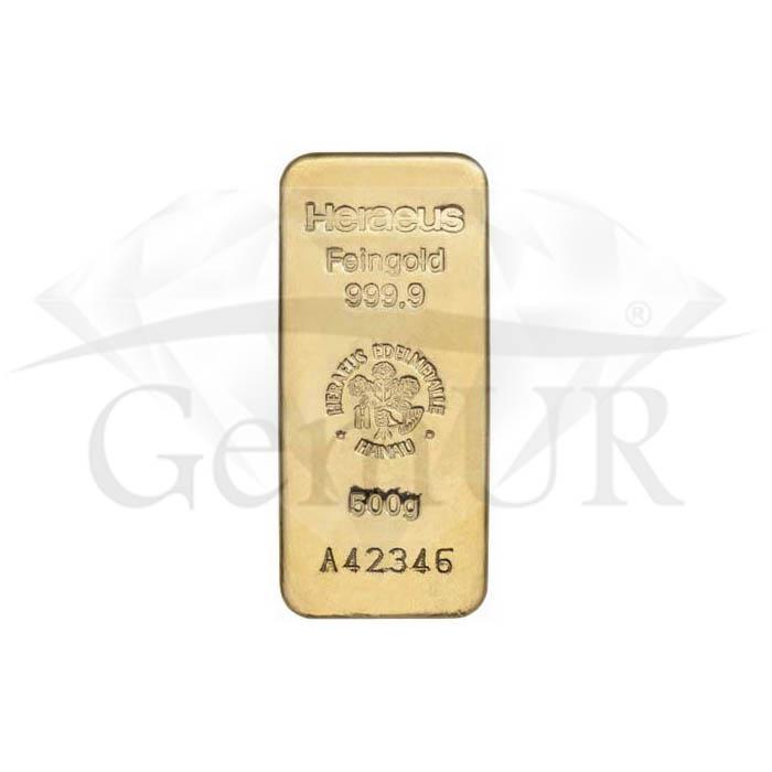 1 kg złota Au próba 999.9 [br] 2 sztabki X 500 g