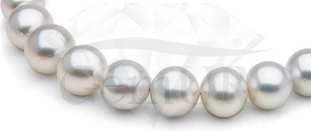 Naszyjnik z australijskich pereł hodowanych -